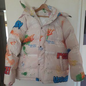 THE MOST FUNNEST PUFFER JACKET